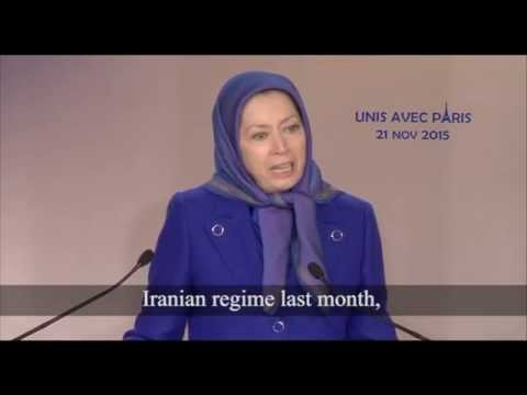Maryam Rajavi: respond to the cold hearted masterminds of the Paris massacre