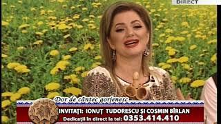 Dor de cantec gorjenesc 13 octombrie 2017  Ionut Tudorescu si Cosmin Birlan