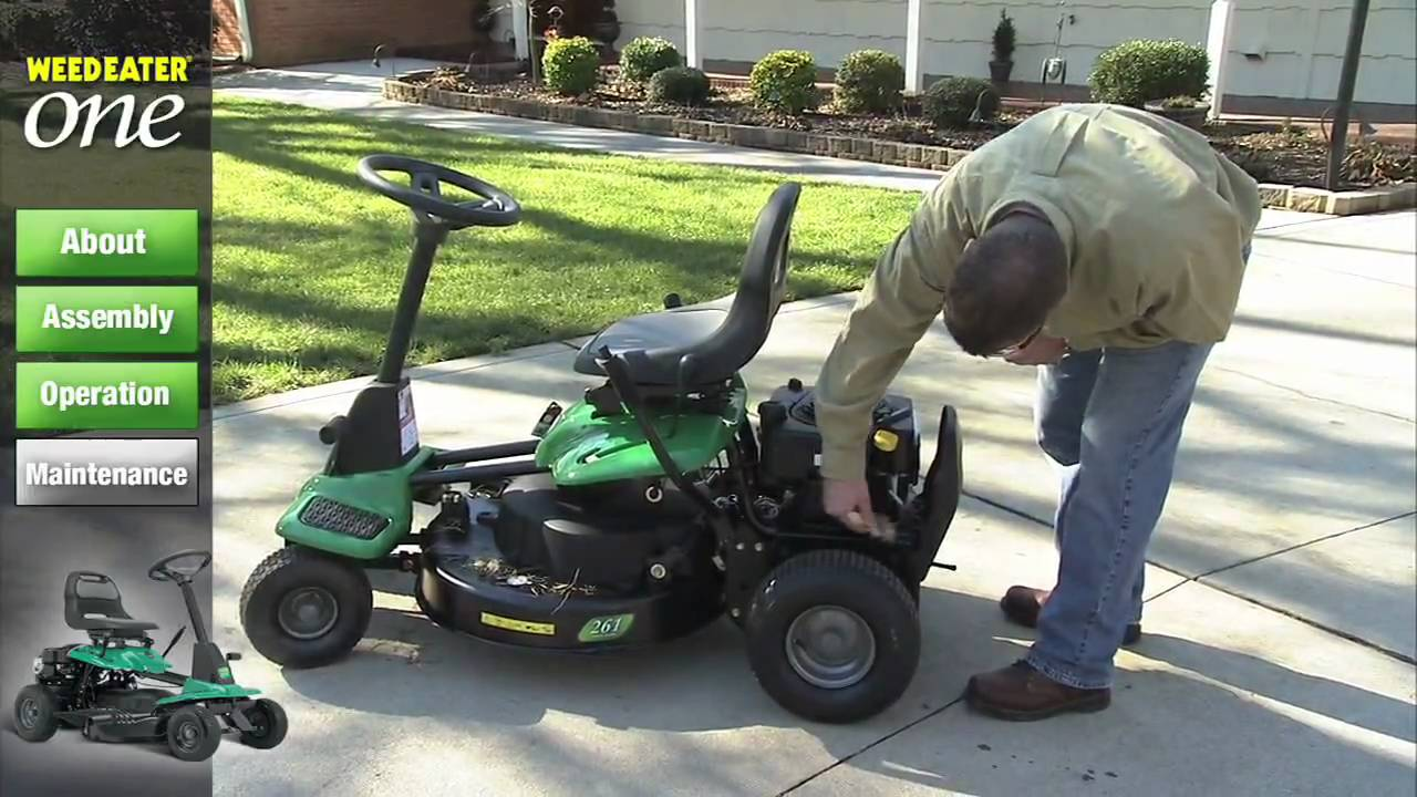 weed eater one maintenance youtube rh youtube com