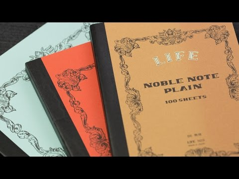 Mr. Paper! Life Noble Note Notebook!