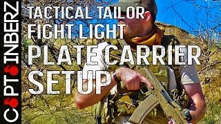 Tactical Tailor Fight Light Plate Carrier Setup (Current)