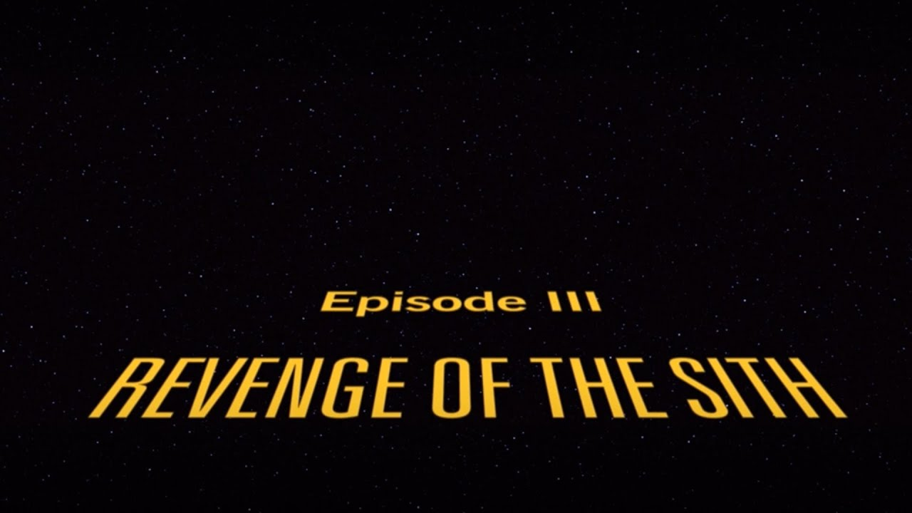 Star Wars Iii Revenge Of The Sith Opening Title Music Only Youtube