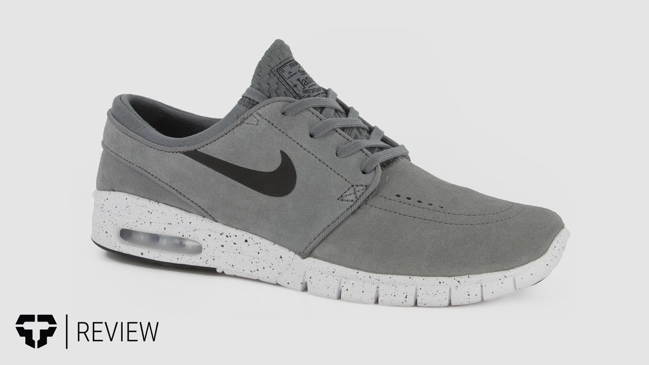 competitive price 2c514 b5cf3 Nike SB Stefan Janoski Max L Shoes Review - Tactics.com