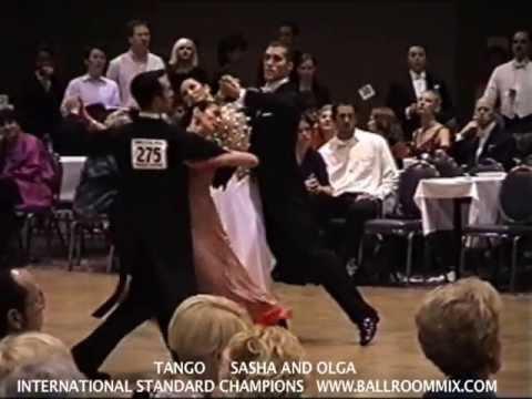 Olga Bogdanov & Sasha Bogdanov  1st Place Winners, Intl Standard Rising Star, Ohio Star Ball 2001