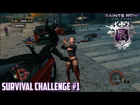Saints Row: The Third - Survival Challenges (01/26) |