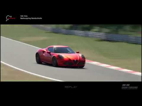 Alfa Romeo 4C Vs The Nurburgring!!