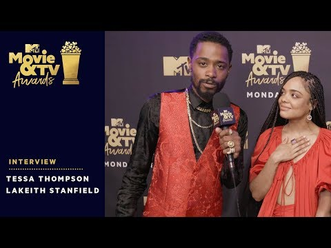 Tessa Thompson & Lakeith Stanfield on 'Sorry to Bother You' | 2018 MTV Movie & TV Awards