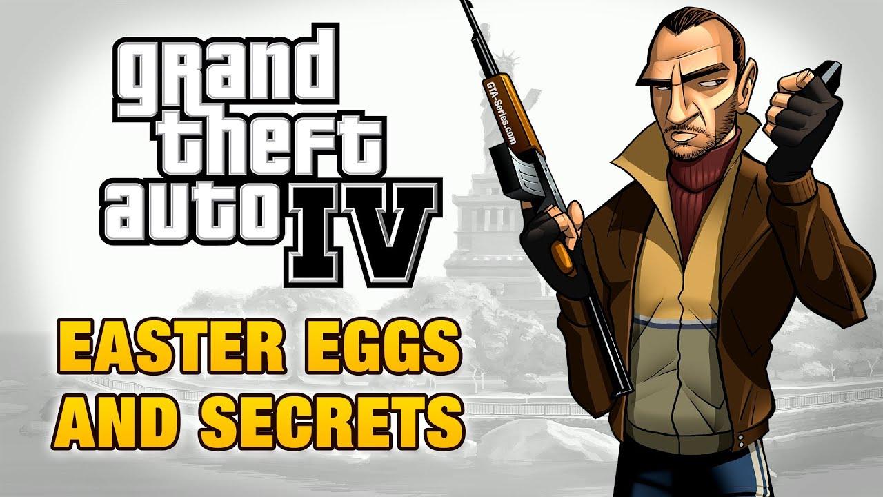 GTA 4 - Easter Eggs and Secrets - YouTube Grand Theft Auto V Logo