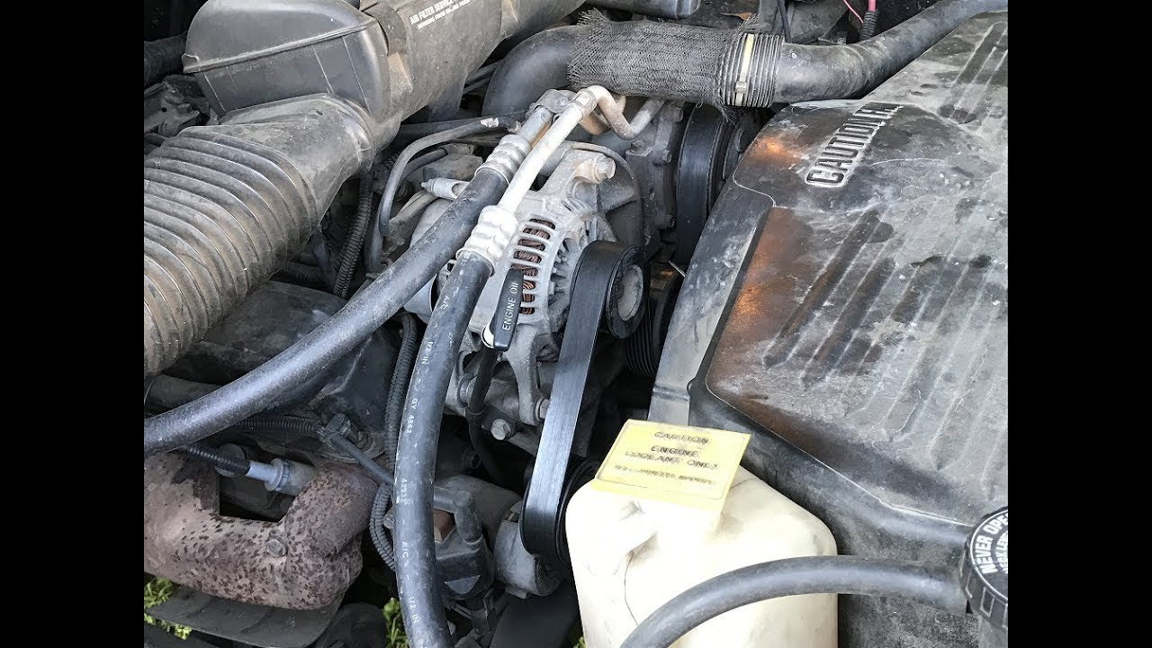 Dodge Caravan Serpentine Belt Slips
