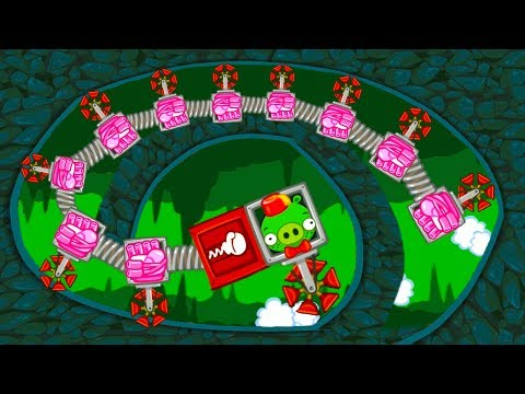 МАШИНКИ Bad Piggies #12 мультик игра как Хот вилс Hot Wheels про тачки. Собираем новую машинку #МК - Простые вкусные домашние видео рецепты блюд
