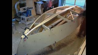 Sailboat Building Timelapse, 16footer, Part1