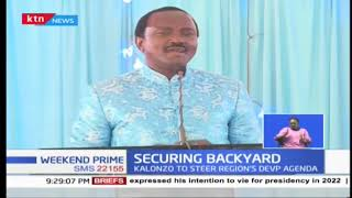 Kalonzo works on securing backyard support