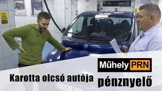 MűhelyPRN 2.: Karotta olcsó autója pénznyelő