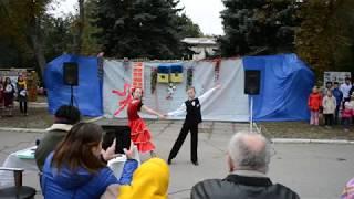 90 лет село Новопетровка. Клуб Тандем Венский Вальс Шевченко Евгений и Гулинкова Евгения.