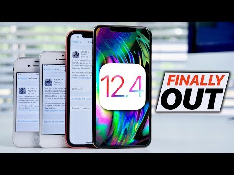 Brian Fink - iOS 12.4 Has Been Released, And Here Are All The Updates