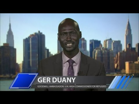 Ger Duany Joins Larry King on PoliticKING  Larry King Now  Ora.TV