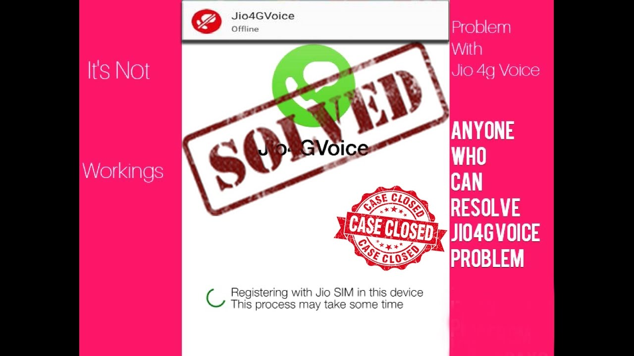 How To Fix Jio4GVoice Offline Problem? Solved 2019 - Jio4GVoice