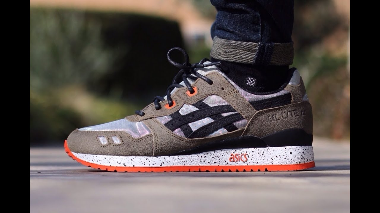 bait x asics gel lyte iii basics model