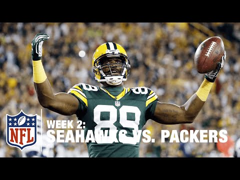 Rodgers Hits James Jones for Quick TD! | Seahawks vs. Packers | NFL