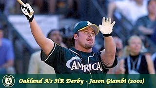 Oakland A's Home Run Derby Episode 1 - Jason Giambi (2001)