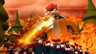 Roblox ? BOWSER KILLS TODOS - Mario Obby! (Roblox Adventures)