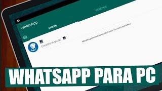 Instalar WhatsApp para pc + Numero Virtual Gratis Windows 10/8/7 - 2018