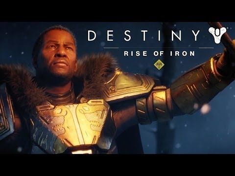Destiny Rise of Iron Festival of the Lost Trailer Movie Poster