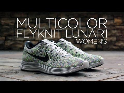 nike women's flyknit lunar 1