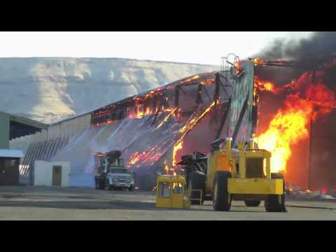 Witness Account Of Old Boise Cascade Mill Fire