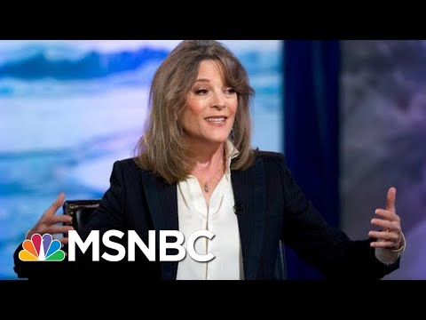 Marianne Williamson Drops Out Of Presidential Race: 'Love Will Prevail' | Andrea Mitchell | MSNBC