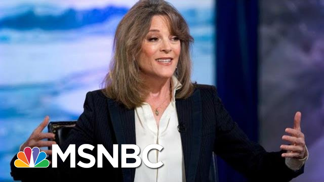 Marianne Williamson drops out of Democratic presidential race