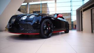Bentley Continental Speed Black Edition (black+red)