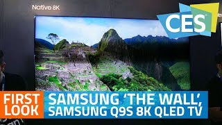 Samsung 'The Wall', Samsung Q9S 8K QLED TV First Look