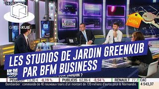 Interview d'Alexandre Gioffredy PDG de Greenkub sur BFM BUSINESS