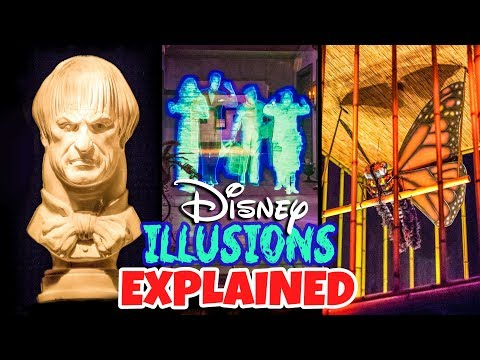 Top 10 Disney Secrets Illusions & Tricks Explained