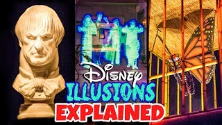 Top 10 Disney Secrets Illusions & Tricks Explained