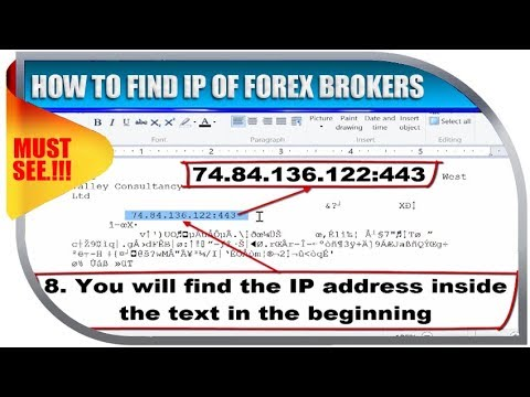 How to find forex broker