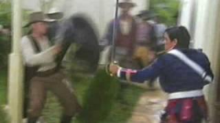"Waltinho Dublê ( Stunt ) - ""Anjo de Mim"" Luta de espadas"