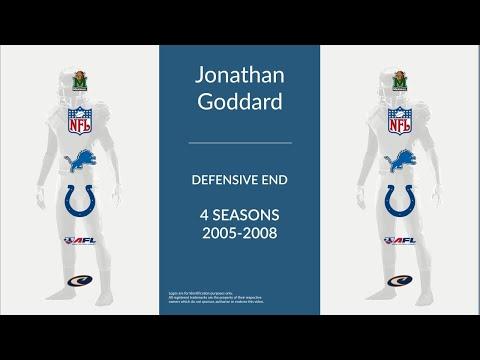 Jonathan Goddard: Football Defensive End and Linebacker