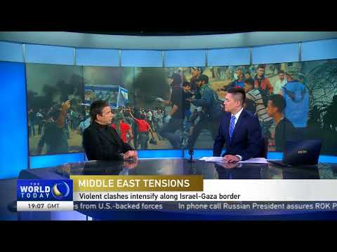 Geoffrey Aronson on Gaza protests; Pompeo Middle East trip