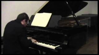 Franco Di Nitto plays a Fazioli Grand Piano, Hasche-Mann (Robert Schumann, Kinderszenen op.15)
