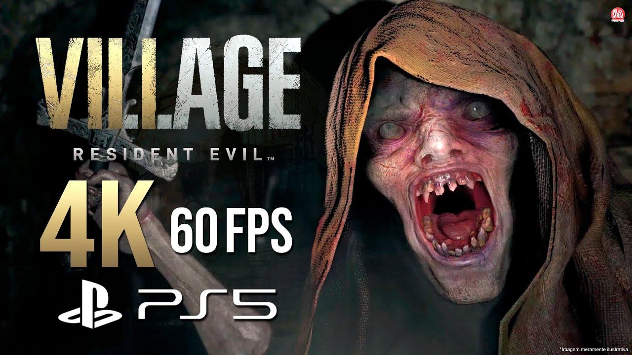 RESIDENT EVIL VILLAGE : GAMEPLAY LINDÃO em 4K 60FPS no PS5 | DEMO MAIDEN