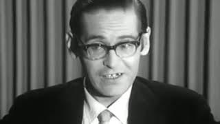 {한글자막} '빌 에반스의 보편적 지성' 다큐멘터리 (Universal Mind of Bill Evans 1966 Documentary)