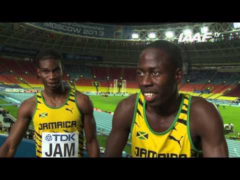 Moscow 2013 - Team JAM - 4x400m Men - Final - Silver