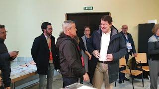 Fernández Mañueco vota en las elecciones del '10-N' en Salamanca