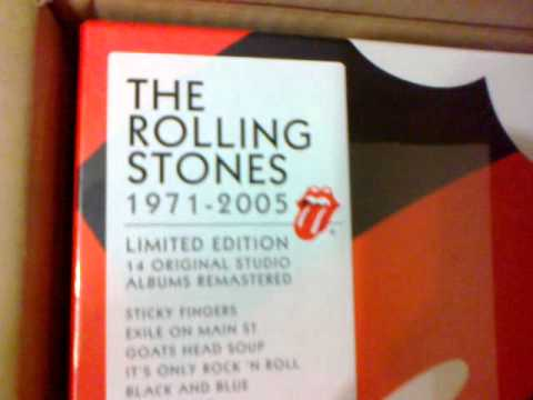 The Rolling Stones Box Set 18 Vinilos De 180g (1971-2005)
