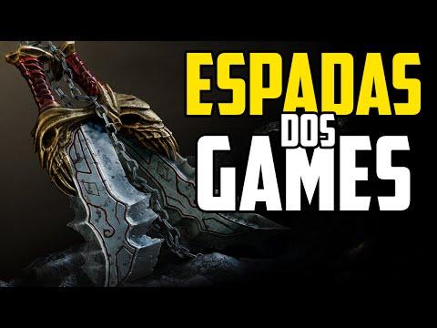 7 ESPADAS INCRÍVEIS DOS GAMES!