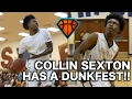 Collin Sexton & The Brook Put On A DUNK SHOW In the 1st Round of States!! | Catches NASTY Alley-oop