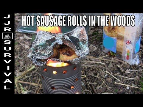 Bushcraft Sausage Rolls In The Woods