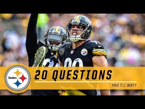 20 Questions: T.J. Watt